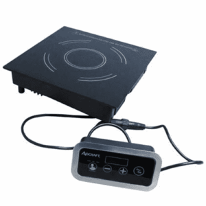 Adcraft IND-DR120V Drop-In Induction Cooker with Remote Control - 120V, 1800W
