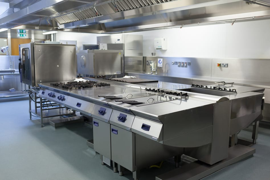 Minimum equipment requirements for a restaurant set up for Kitchen set up for restaurant