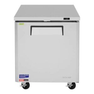 Turbo Air 7-cu ft Undercounter Refrigerator w 1 Section & 1 Door MUR-28-N (1)