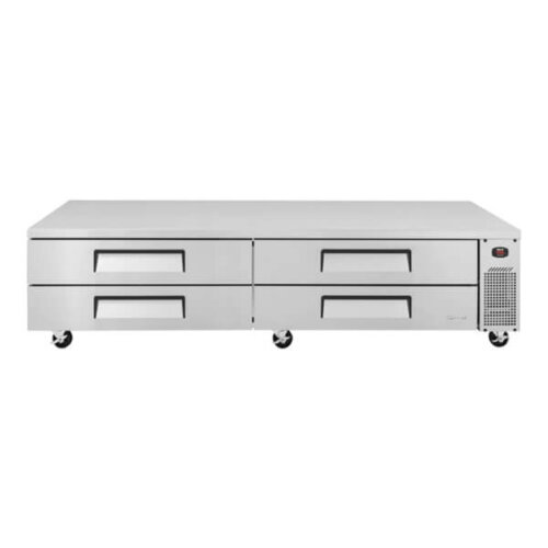 Turbo Air Chef Base w 4 Drawers - TCBE-96SDR-N (1)