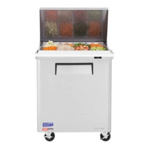Turbo Air Sandwich Salad Prep Table w Refrigerated Base - MST-28-12-N (1)