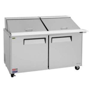 Turbo Air Sandwich Salad Prep Table w Refrigerated Base - MST-60-24-N (1)