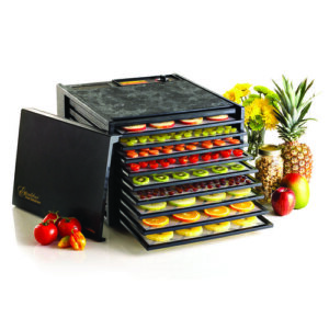 Excalibur 3900B Black Nine Rack Food Dehydrator - 600W