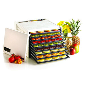Excalibur 3900W White Nine Tray Food Dehydrator - 600W