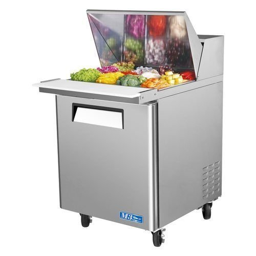 "Turbo Air MST-28-12 28"" Sandwich Salad Prep Table w/ Refrigerated Base"