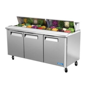 "Turbo Air MST-72 72"" Sandwich Salad Prep Table w/ Refrigerated Base"