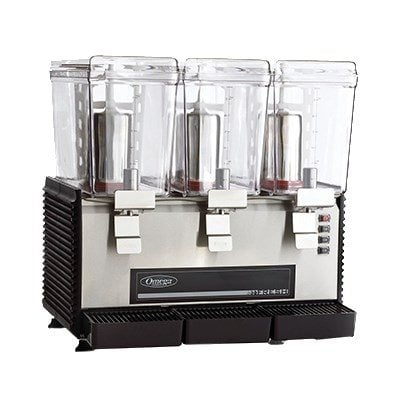 beverage dispenser 3 tanks rotary system Omega OSD30