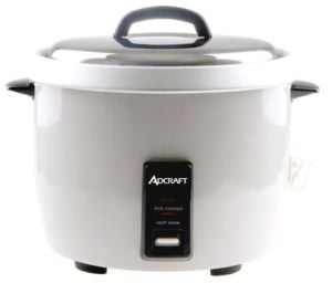 Adcraft RC-E30 Rice Cooker/Warmer, Electric, 30 Cups - 120V, 1650W