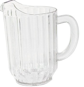 Plastic Pitcher 60 oz.