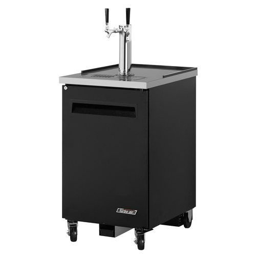 "Turbo Air TBD-1SB 24"" Draft Beer System w/ (1) Keg Capacity - (1) Column, Black"
