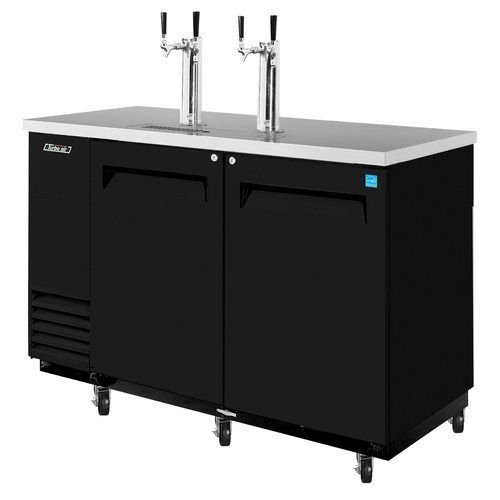 "Turbo Air TBD-2SB 59"" Draft Beer System w/ (2) Keg Capacity - (2) Columns"