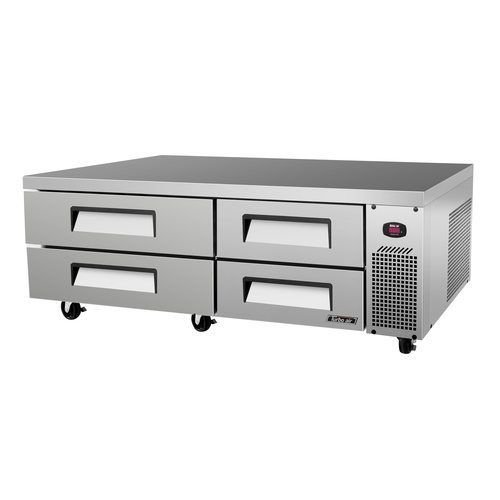 "Turbo Air TCBE-72SDR 72"" Chef Base w/ (4) Drawers"