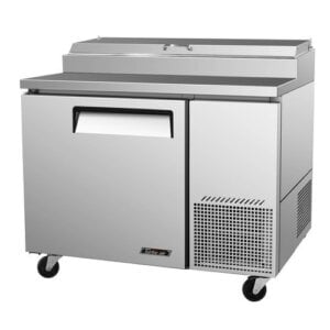 "Turbo Air TPR-44SD 44"" Pizza Prep Table w/ Refrigerated Base"