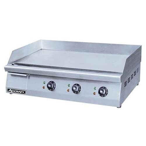 "Admiral Craft GRID-30 30"" Electric Countertop Griddle - 240V, 4500W"