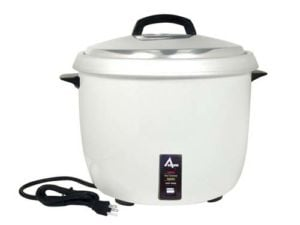 Adcraft RC-0030 Premium 30 Cup Commercial Rice Cooker - 120V, 1800W