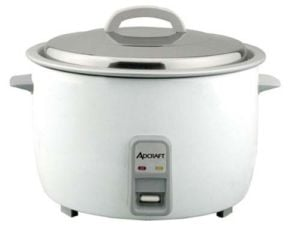 Adcraft RC-E25 Rice Cooker, Electric, 25 Cups Cooked Rice Cap - 120V, 1550W