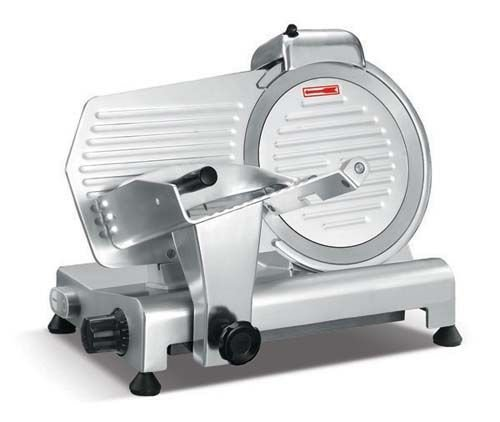 "Admiral Craft SL300ES 12"" Light Duty Manual Gravity Feed Meat Slicer - 1/3 HP, 110V"