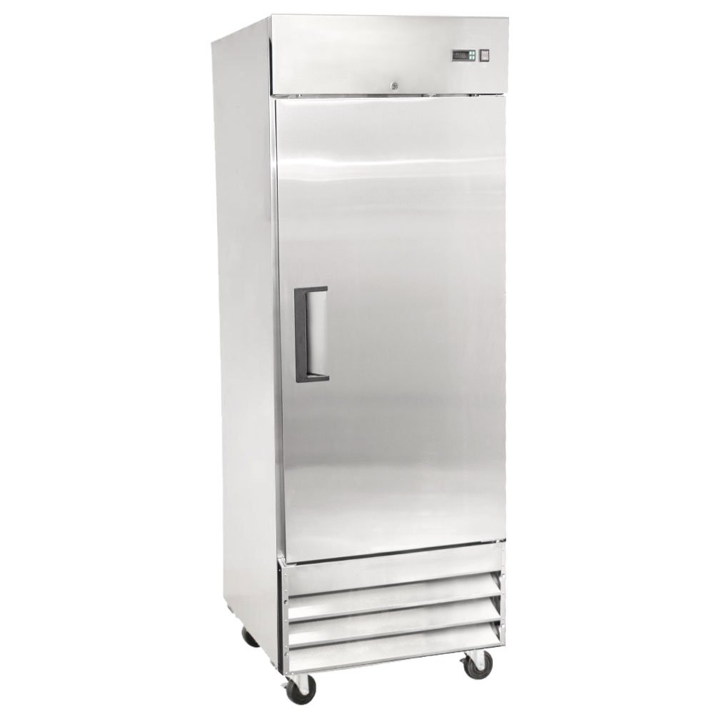 commercial freezer 1 door 23cf reach in restaurant equipment