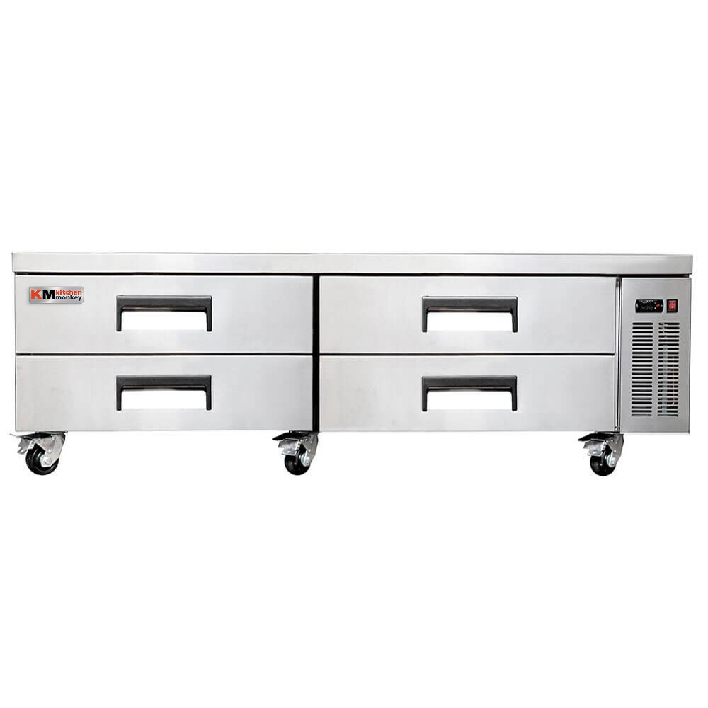 Chef Base Refrigerator 4 Drawers 72 Inch