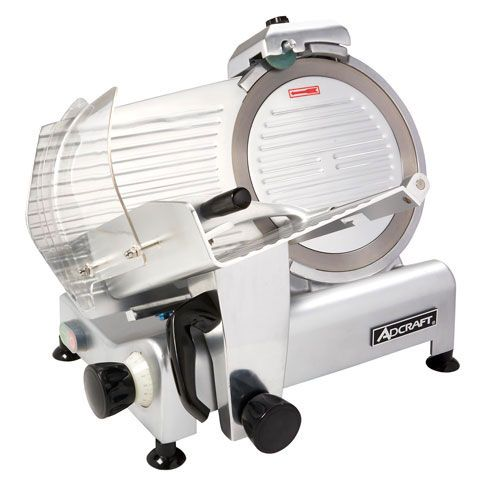 "Admiral Craft 300ES-12 12"" Medium Duty Manual Gravity Feed Meat Slicer - 1/3 hp, 110V"
