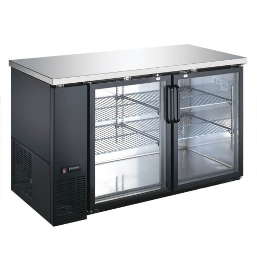"Kitchen Monkey KMBB-5928G 59"" Back Bar Refrigerator - 19 Cu Ft"