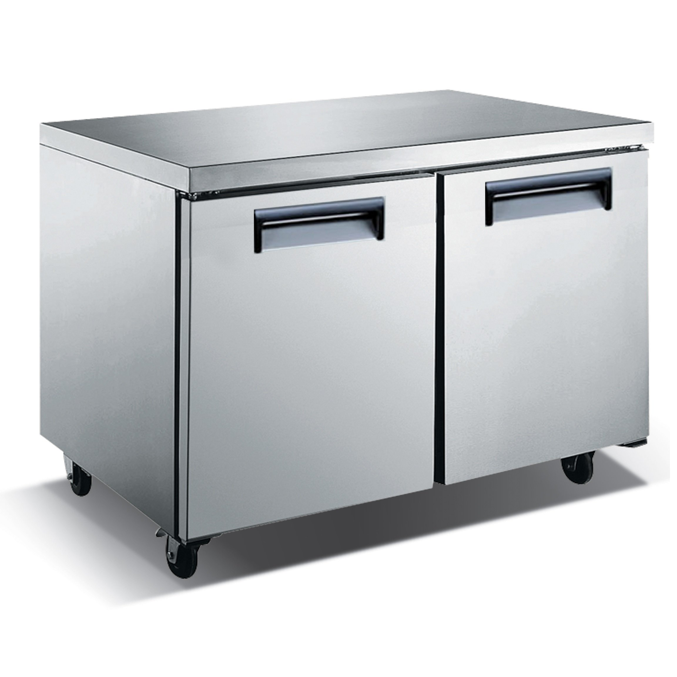 Restaurant Kitchen Refrigerator kitchen monkey undercounter refrigerator 2 door | restaurant equipment