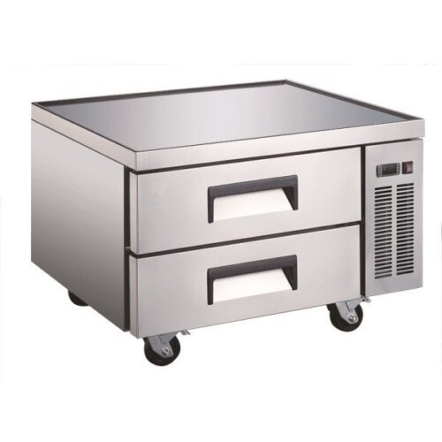 "Admiral Craft U-star USCB-36 36"" 2 Drawer Refrigerated Chef Base"
