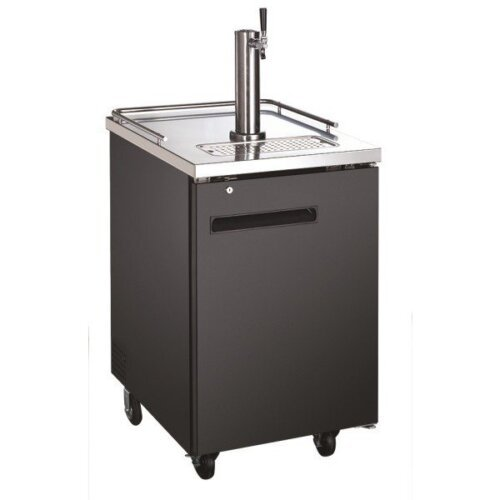 "Admiral Craft U-star USBD-2428 Single Tap Kegerator 24"" Beer Dispenser (1) 1/2 Keg Capacity"