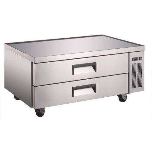 "Admiral Craft U-star USCB-52 52"" 2 Drawer Refrigerated Chef Base"