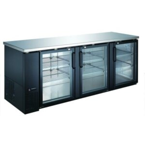 "Admiral Craft U-Star USBB-9028G 90"" Back Bar Refrigerator - 32 Cu Ft"