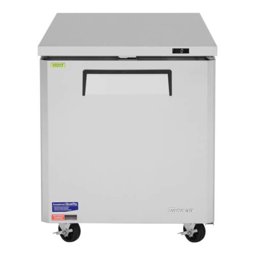 Turbo Air 7-cu ft Under counter Freezer w 1 Section & 1 Door - MUF-28-N (1)