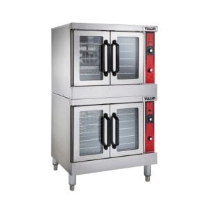 Vulcan Double Deck Full Size Electric Convection Oven 208V VC44ED-208/1