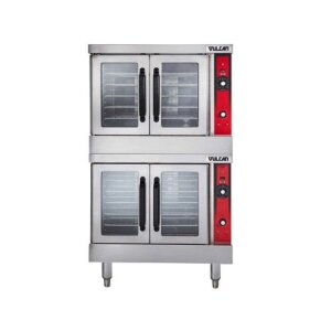 Vulcan Double Deck Full Size Electric Convection Oven 240V VC44ED