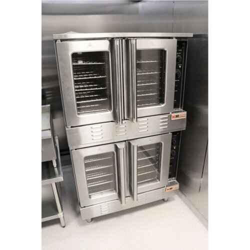 Double Deck Full Size Gas Convection Oven 108K BTU NG