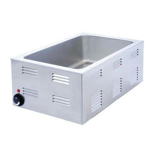 Kitchen Monkey KMFW-1200W Full Size Pan Countertop Food Warmer - 120V, 1200W