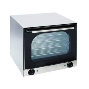 Kitchen Monkey KMCOH-2670W Half Size Countertop Convection Oven - 220V, 2670W