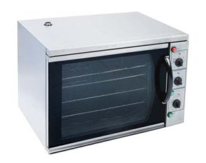 Kitchen Monkey KMCOH-3100WPRO Half Size Countertop Convection Oven - 220V, 3100W