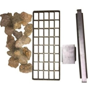 Lava Rocks Conversion Kit for 24 Inches Charbroiler