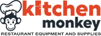 Kitchen Monkey Restaurant Equipment Logo