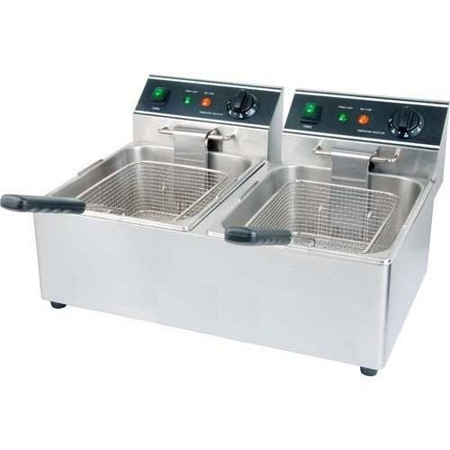 Double Tank Deep Fryer