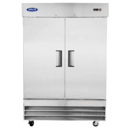 Admiral Craft Grista GRRF-2D Solid Door Reach-In Refrigerator - 48 Cu Ft