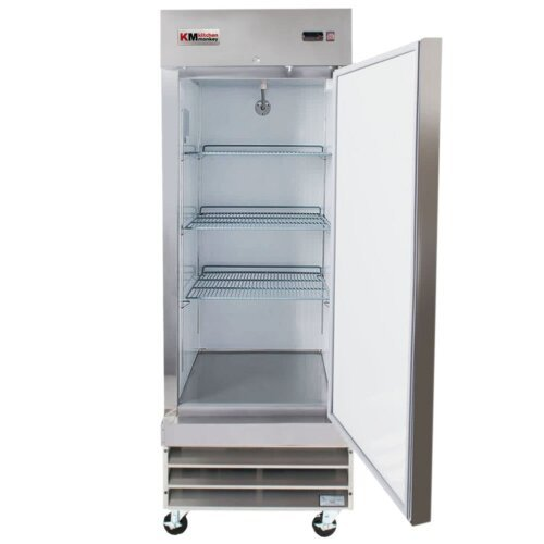 Reach-In Refrigerator 23CF One Door 29 Inches KM Kitchen Money