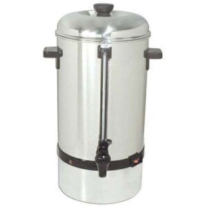 Kitchen Monkey KMCP-40 Stainless Steel Coffee Percolator - 40 Cup