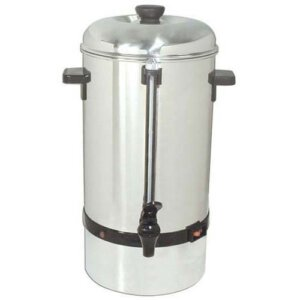 Kitchen Monkey KMCP-60 Stainless Steel Coffee Percolator - 60 Cup