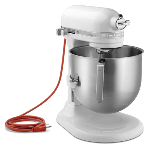 Commercial Planetary Mixer 8 Qt 1.3 HP White