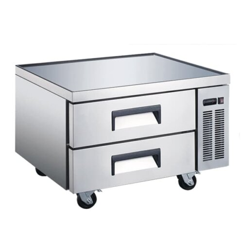 "Omcan 50070 36"" 2 Drawer Refrigerated Chef Base"