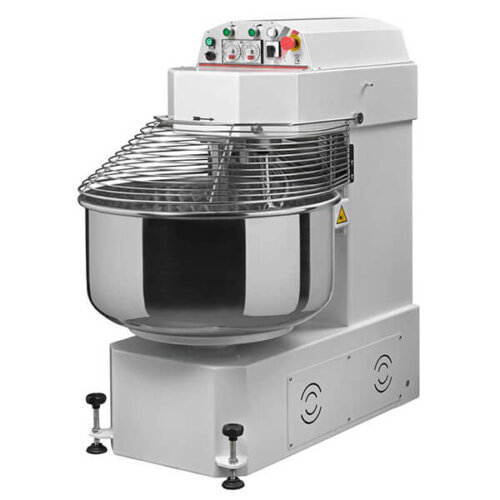 Omcan 13161 220 lb. Heavy Duty Two Speed Spiral Dough Mixer - 208V, 3 Phase