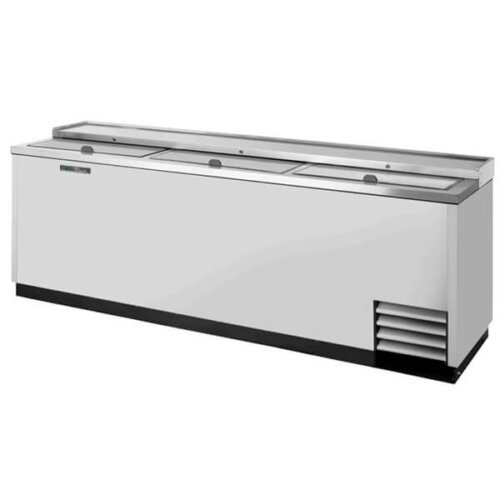 True TD-95-38-S-HC Bottle Cooler Slide Lid 95 inch Silver