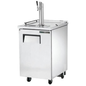 True TDD-1-S-HC Direct Draw Beer Dispenser Single Tower Silver