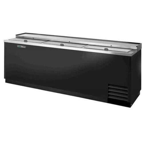 True TD-95-38-HC Bottle Cooler Slide Lid 95 inch Black